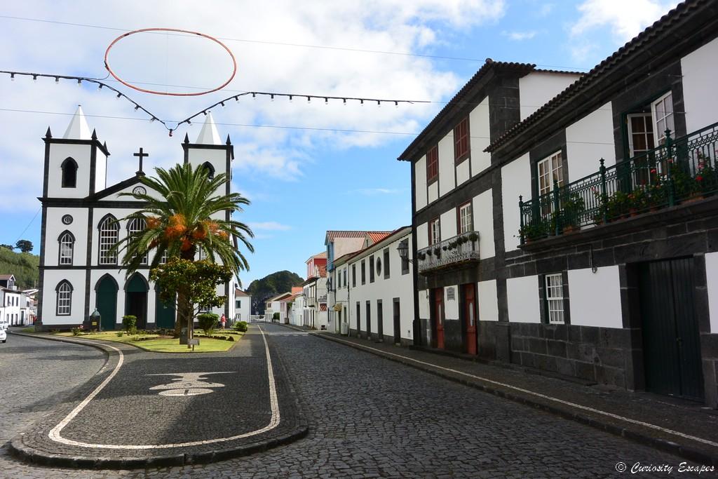 Eglise de Lajes do Pico aux Açores
