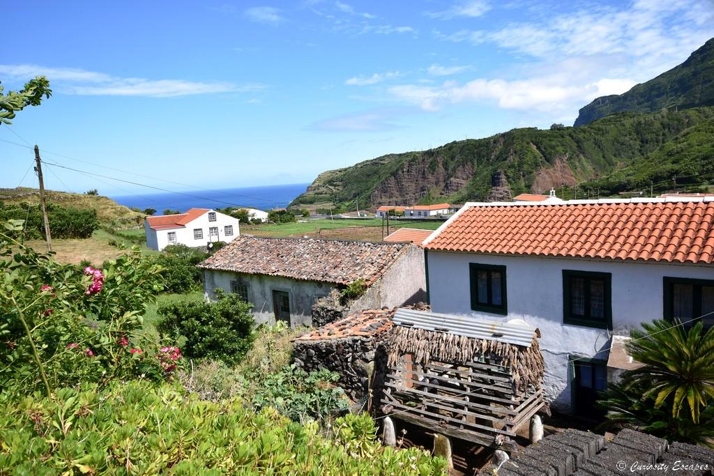 Village de Fajãzinha à Flores