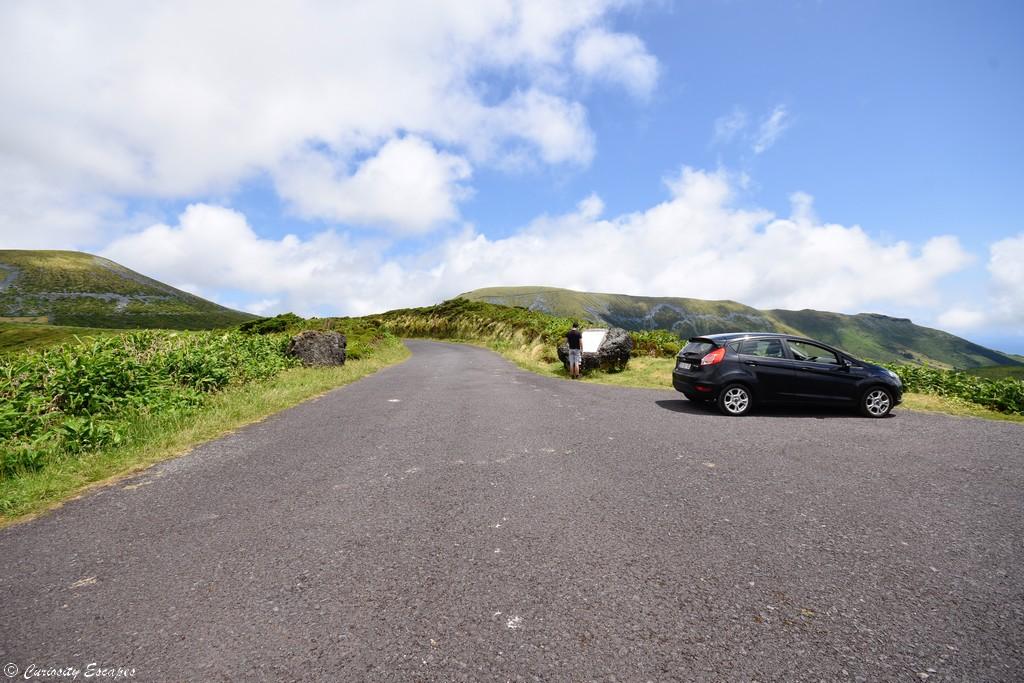 Pas de touristes sur l'île de Flores, Açores
