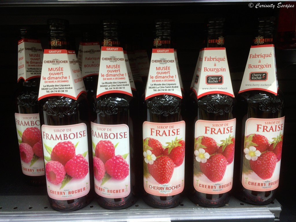 Visite du musée des sirops Cherry Rocher