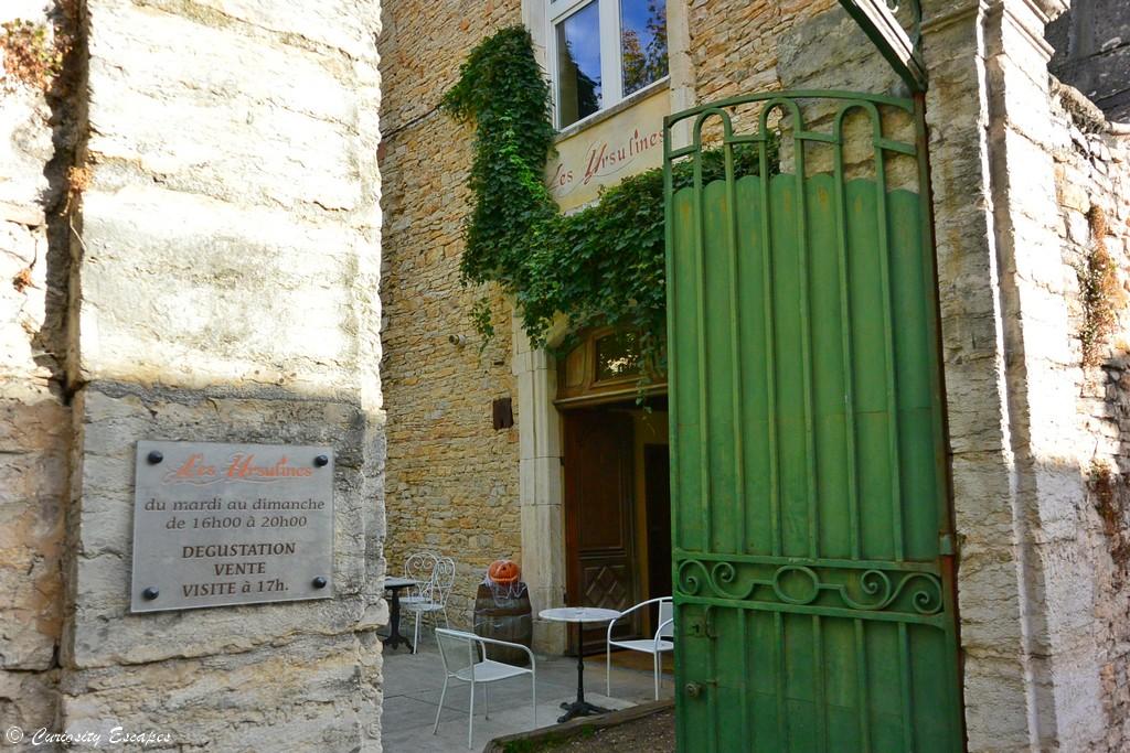Brasserie des Ursulines à Crémieu, Isère