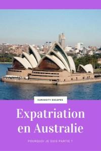 Expatriation en Australie