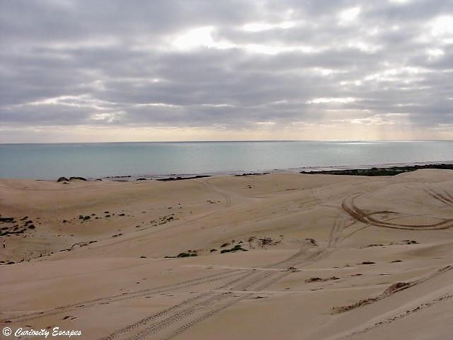 Désert au bord de l'Océan indien, Australie Occidentale