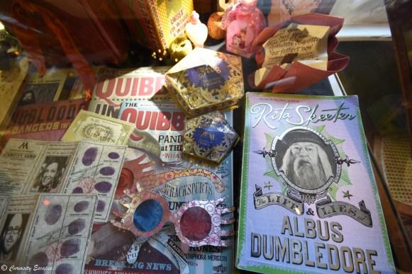 Objets créés par MinaLima pour les films Harry Potter
