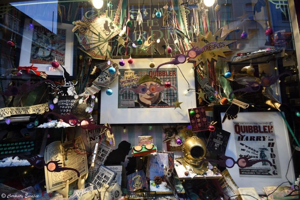 Vitrine de la boutique MinaLima à Londres
