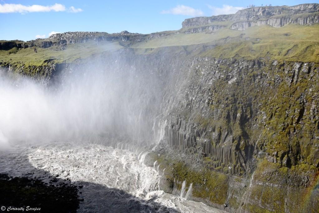 Bruine de la cascade Dettifoss