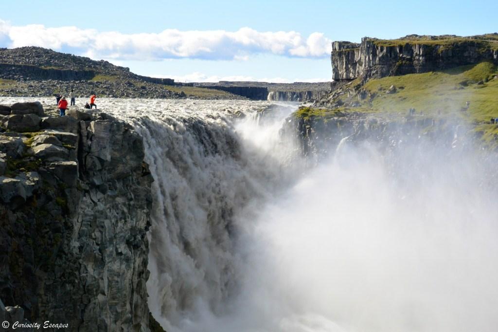 Puissance de la cascade Dettifoss