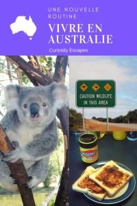 Routine d'une lycéenne en Australie