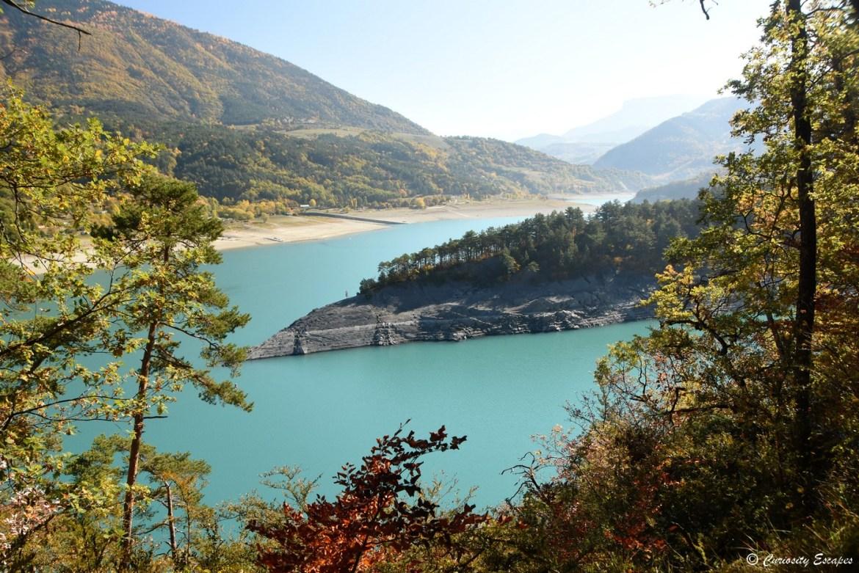 Lac de Monteynard, Isère