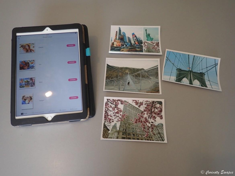 Créer des cartes postales avec un ipad