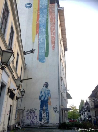 Street-art à Belgrade