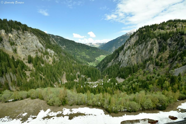 Vallée du barrage de Roselend
