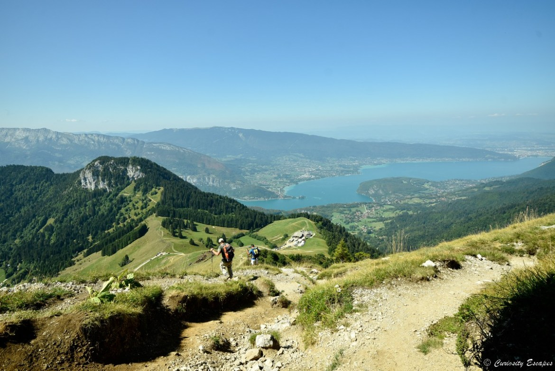 Rando de la tournette au lac d'Annecy