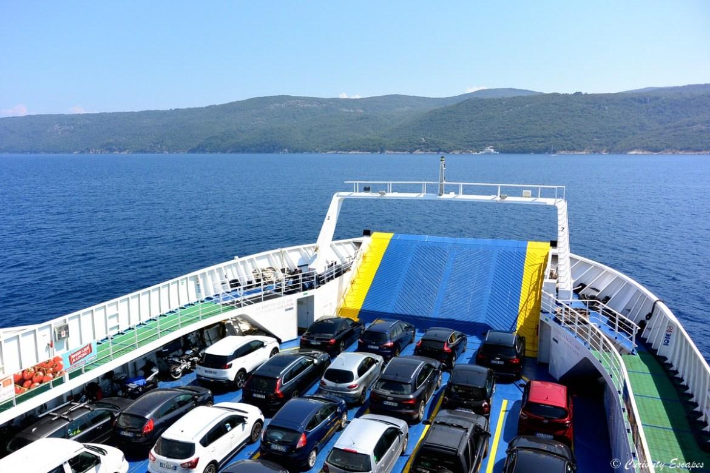 Ferry pour les îles de Cres et Losinj en Croatie