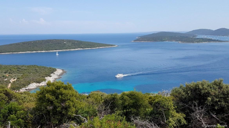 Mrtvaška, au bout de l'île de Lošinj