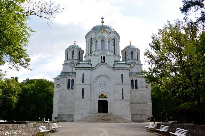 L'église St George de Topola en Serbie