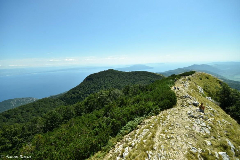 Mont Vojak dans le parc naturel dUcka, Croatie
