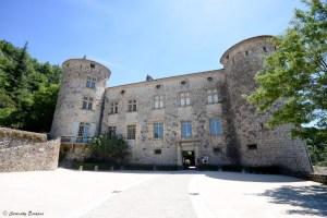 Le château de Vogüé en Ardèche