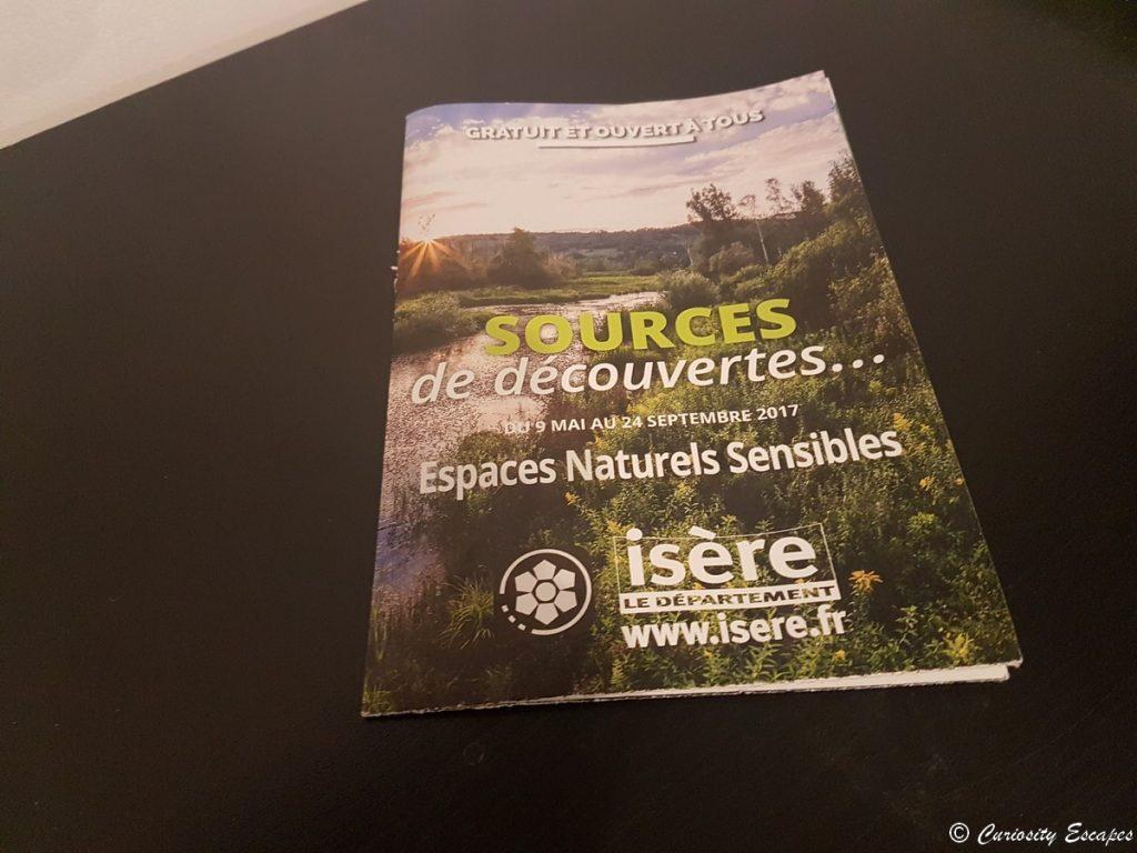 Flyer informatif des ENS de l'Isère