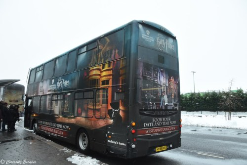 Navette de bus pour les studios Harry Potter