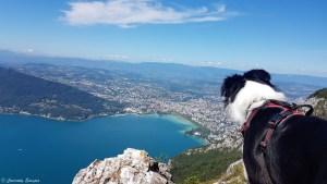 Annecy vu depuis le Mont Veyrier