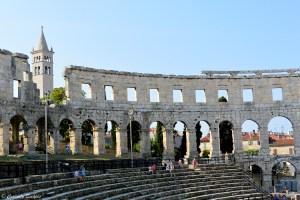 Amphitéâtre de Pula en Istrie croate