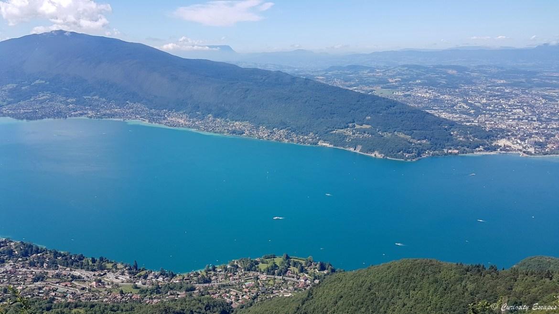 Randonnée au-dessus du lac d'Annecy