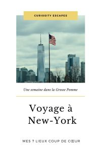 7 lieux coup de coeur à New York