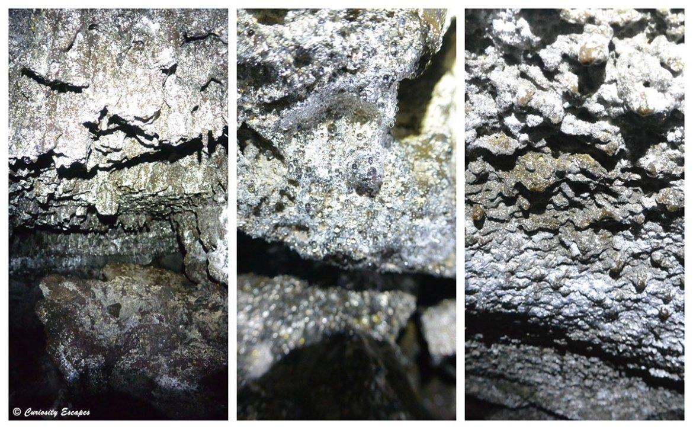 Coulées de lave séchée aux Açores