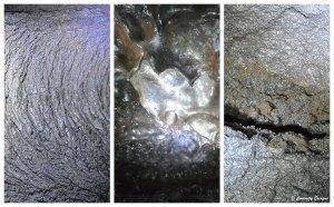 Coulées de lave séchées aux Açores