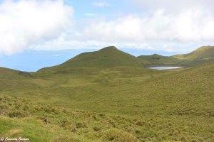 Le coeur de l'île de Pico aux Açores