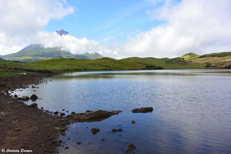 Lagoa do Capitão sur l'île de Pico
