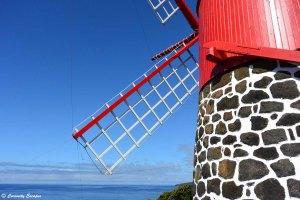Moulin à eau de Ponta Rasa, Pico, Açores