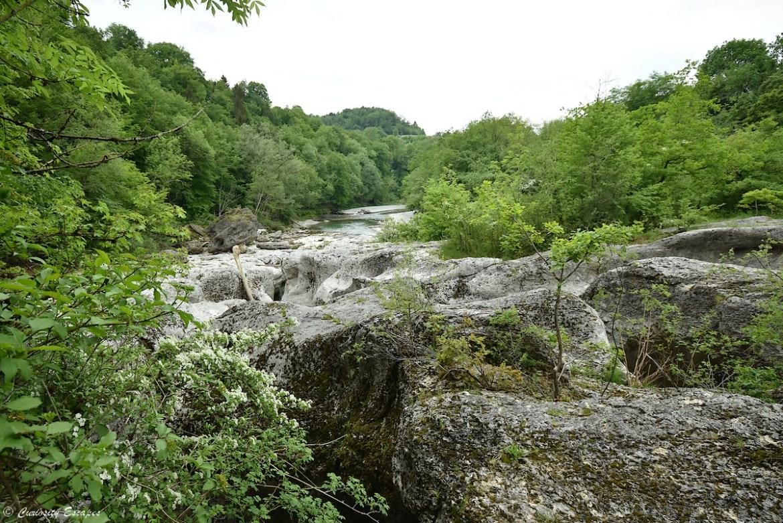 Torrent et canyon du Fier, Haute-Savoie