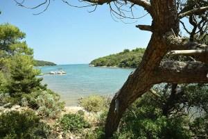 Baie de Punta Kriza sur Cres