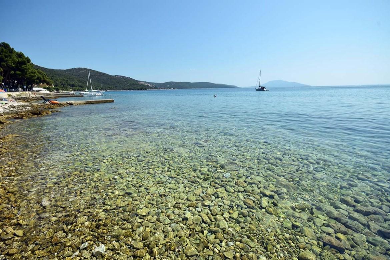 Plage de Martinšćica sur l'île de Cres