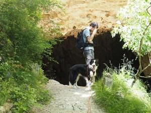 Entrée de la grotte du Gournier, Choranche