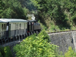 Locomotive Mallet du Mastrou, train de l'Ardèche