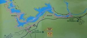 Parcours H des lacs de Plitvice, Croatie