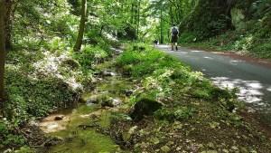 Ruisseau en randonnée dans le Vercors
