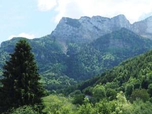 Massif du Vercors depuis Montaud