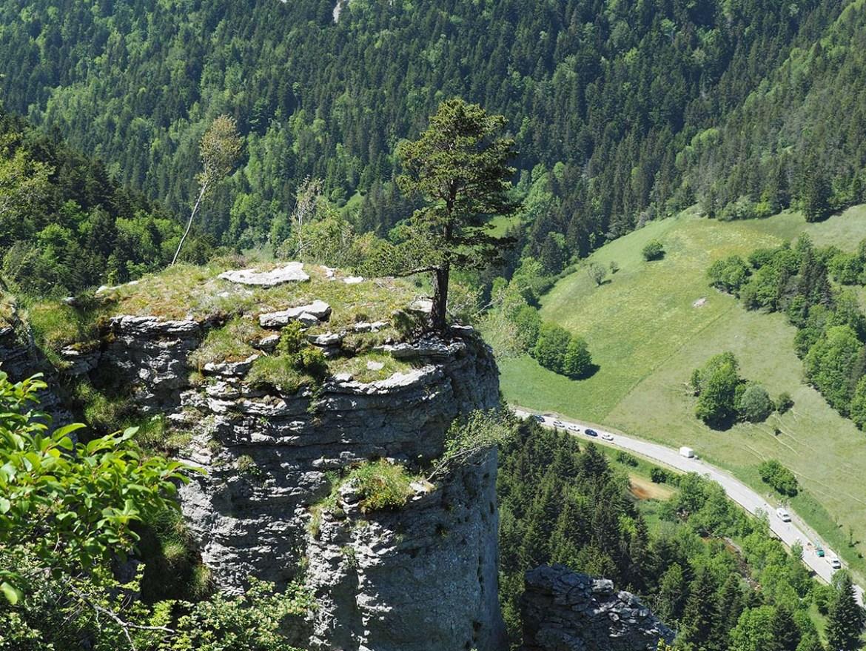 Promontoire rocheux, randonnée Engins