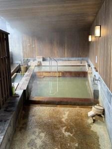 Bain public des femmes au onsen du Kurokawa Onsen