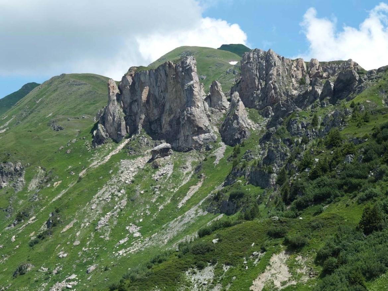 Paysage du Beaufortain, Savoie