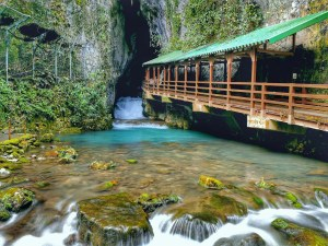 Grotte d'Akiyoshidai au Japon
