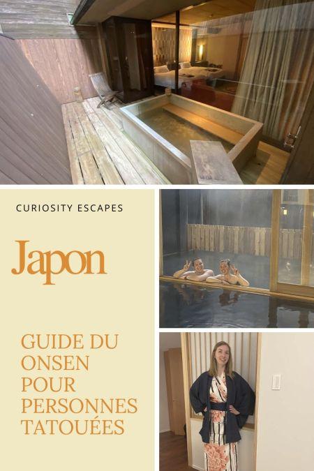Japon: guide du onsen pour les personnes tatouées et pudiques. C'est possible.