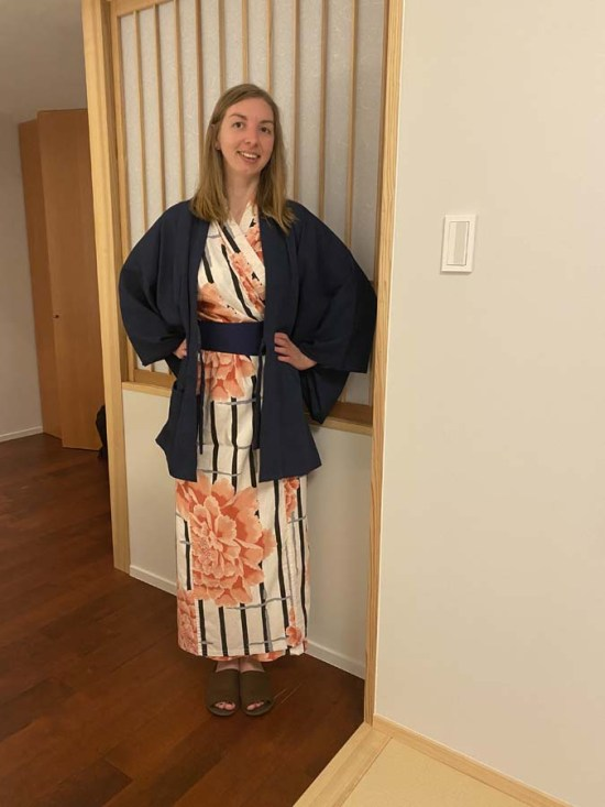 Yukata à la sortie du onsen, expérience dans un ryokan japonais
