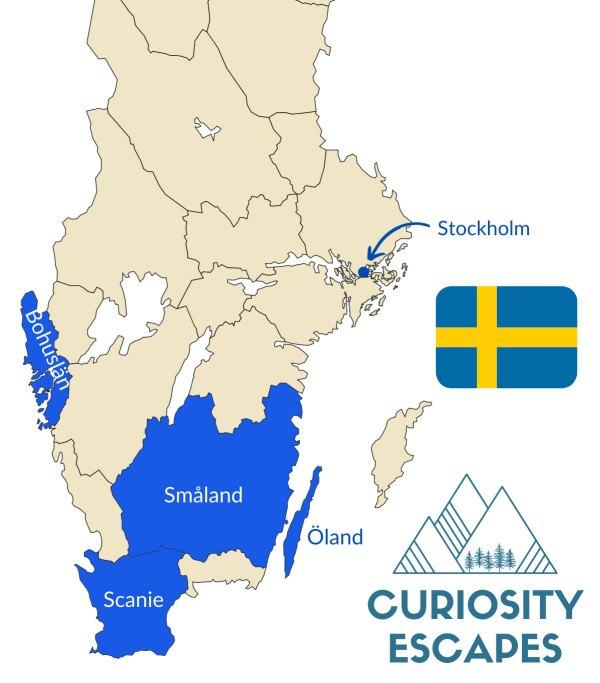 Visiter le sud de la Suède en voiture
