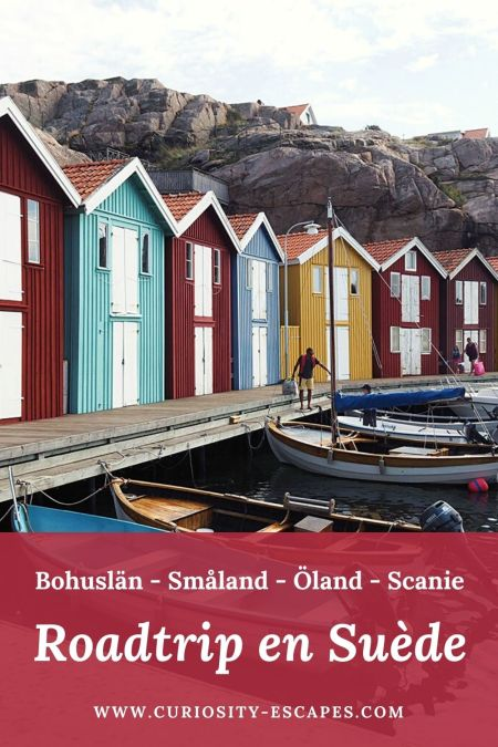Itinéraire pour 3 semaines de roadtrip dans le sud de la Suède