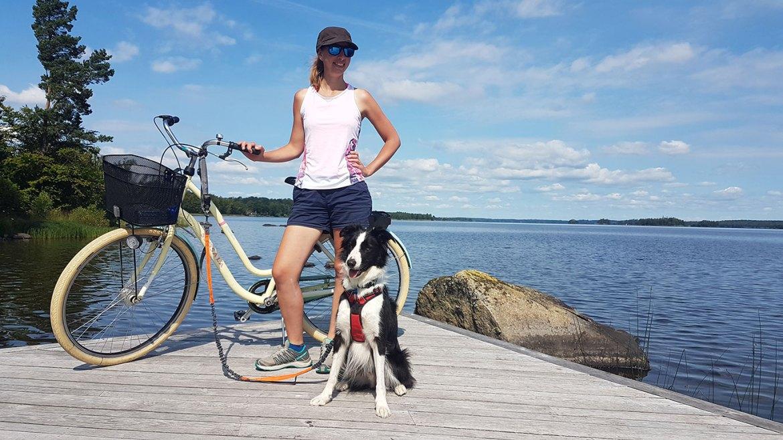 Visiter le parc national d'Asnen à vélo, Suède